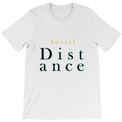 Distance T-shirt Designed By Chiks