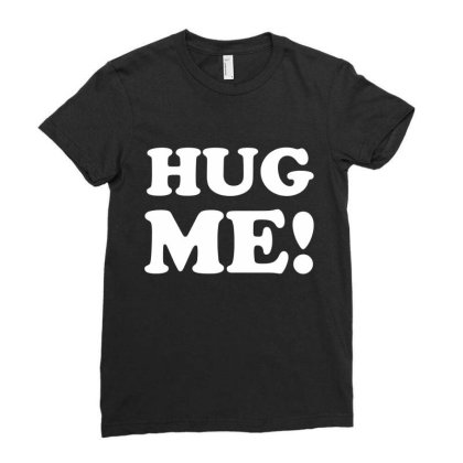 Hug Me Ladies Fitted T-shirt Designed By Lyly