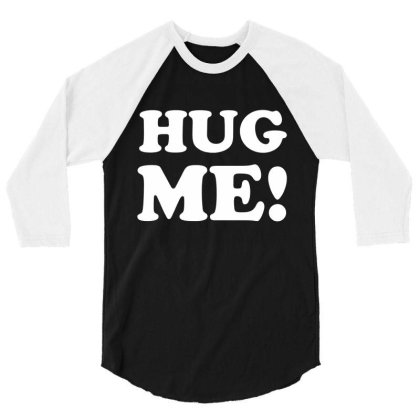 Hug Me 3/4 Sleeve Shirt Designed By Lyly