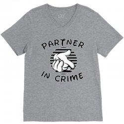 partner in crime V-Neck Tee | Artistshot