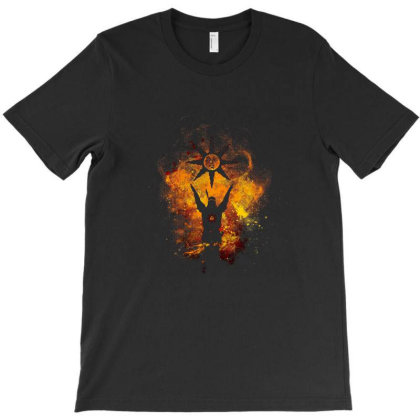 Praise The Sun Art T-shirt Designed By Cottrell