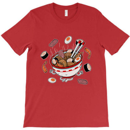 Ramen Zen T-shirt Designed By Cottrell