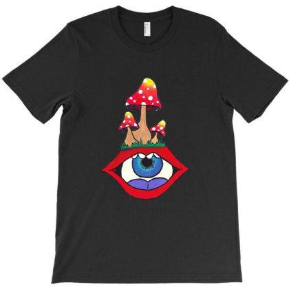 Magic Mushroom T-shirt Designed By Ariepjaelanie