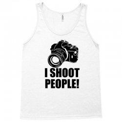 i shoot people t shirt funny photographer tee camera photography digit Tank Top | Artistshot
