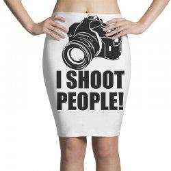i shoot people t shirt funny photographer tee camera photography digit Pencil Skirts | Artistshot