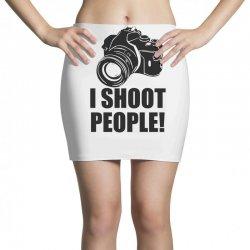 i shoot people t shirt funny photographer tee camera photography digit Mini Skirts | Artistshot