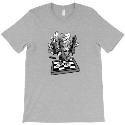 Game Of Chess T-shirt Designed By Hulams42