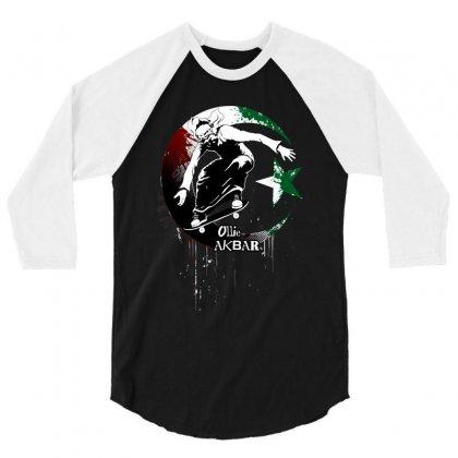 Ollie Akbar 3/4 Sleeve Shirt Designed By Black Draws Stuff