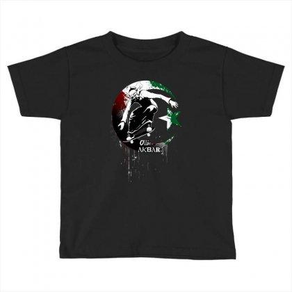 Ollie Akbar Toddler T-shirt Designed By Black Draws Stuff