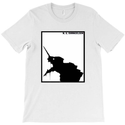 N.g. Evangelion T-shirt Designed By Manyprints