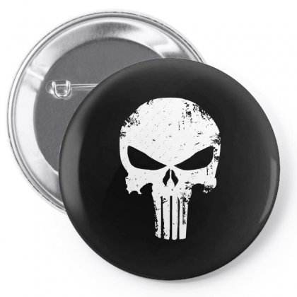 The Punisher Skull Pin-back Button Designed By Constan002