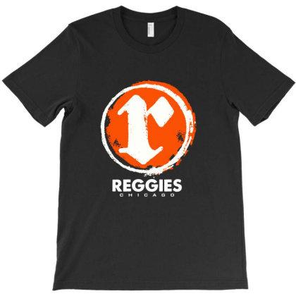 Reggies Chicago Pull Over Hoodie (white Circle R) T-shirt Designed By Hortoner