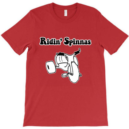 Ridin' Spinnas T-shirt Designed By Hortoner