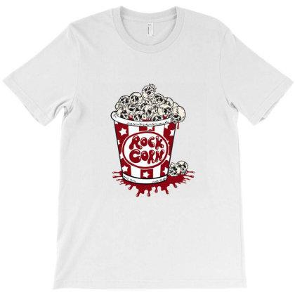 Rock Corn T-shirt Designed By Hortoner