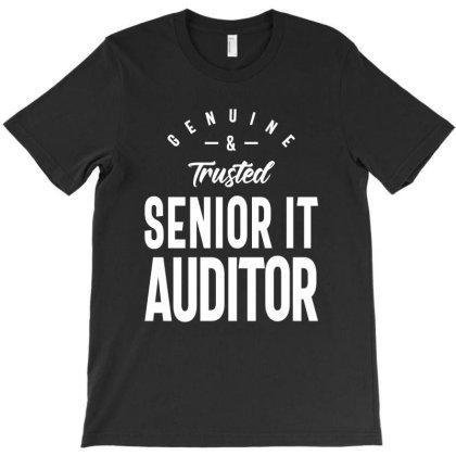 Senior It Auditor Job Title Gift T-shirt Designed By Cidolopez