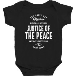 Justice Of The Peace Job Title Gift Baby Bodysuit Designed By Cidolopez