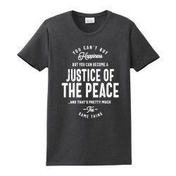 Justice Of The Peace Job Title Gift Ladies Classic T-shirt Designed By Cidolopez