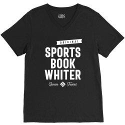 Sports Book Whiter Job Title Gift V-Neck Tee | Artistshot