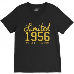 limited 1956 edition V-Neck Tee | Artistshot
