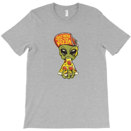 Here For Pizza T-shirt Designed By Fordsn