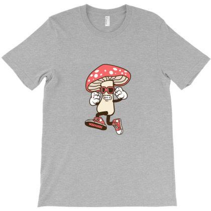 Magic Mushroom T-shirt Designed By Fordsn