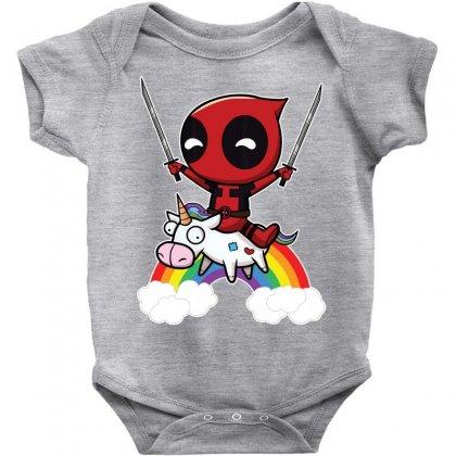 Riding The Unicorn Baby Bodysuit