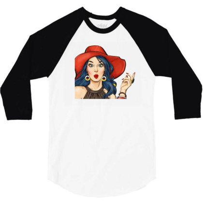 Cheerful Colored Women 3/4 Sleeve Shirt Designed By Coşkun