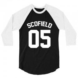 jersey  micheal scofield. 3/4 Sleeve Shirt | Artistshot