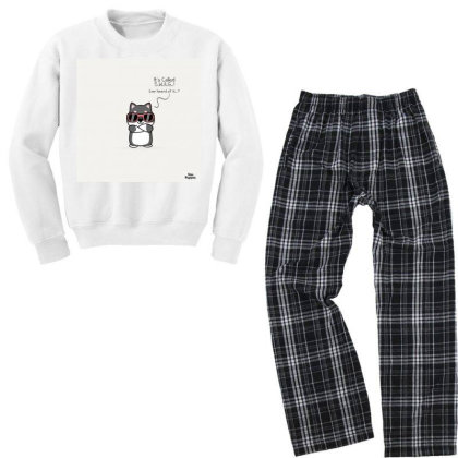 Swag Puppy Youth Sweatshirt Pajama Set Designed By Saikiran