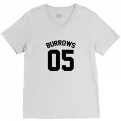 Jersey: Lincoln Burrows V-Neck Tee | Artistshot