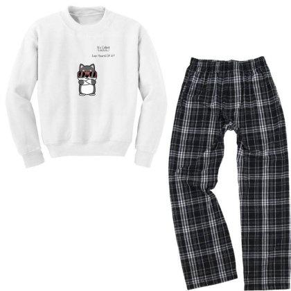 Puppy Youth Sweatshirt Pajama Set Designed By Saikiran