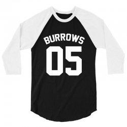 Jersey: Lincoln Burrows 3/4 Sleeve Shirt | Artistshot