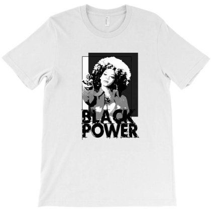 Black Power T-shirt Designed By Manyprints