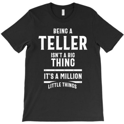Funny Cashier Tshirt Being A Teller T-shirt Designed By Cidolopez