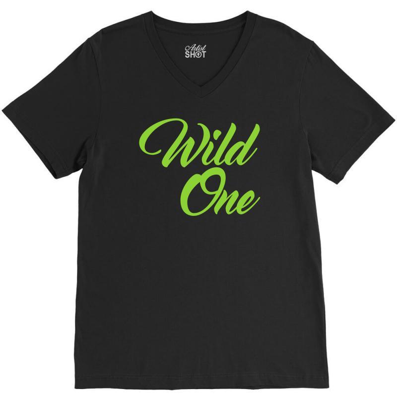 Wild One V-neck Tee | Artistshot