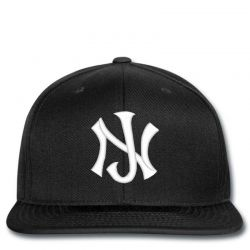 New Jersey Logo Embroidery embroidered hat Snapback | Artistshot