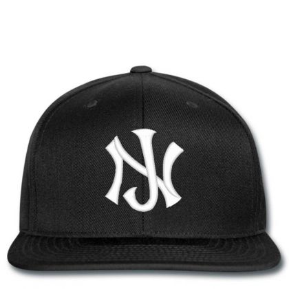 New Jersey Logo Embroidery Embroidered Hat Snapback