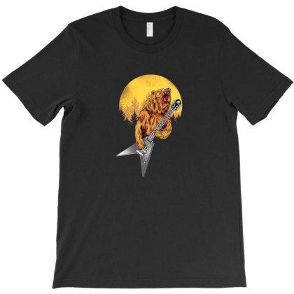 Hardcore Bear T-shirt Designed By Jnconbv