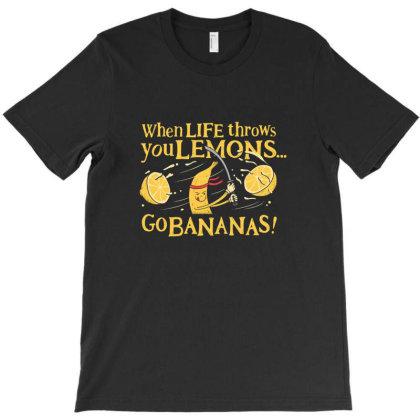 Go Bananas T-shirt Designed By Jnconbv