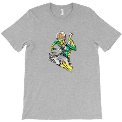 Hot Rod Mars Attacks T-shirt Designed By Jnconbv