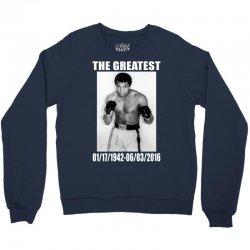 The Greatest Mohamoed Ali Crewneck Sweatshirt   Artistshot