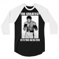 The Greatest Mohamoed Ali 3/4 Sleeve Shirt   Artistshot