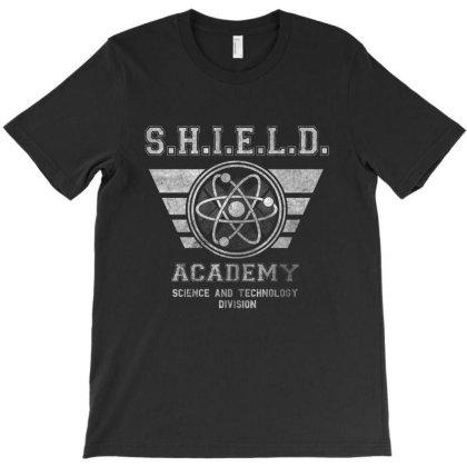 Shield University T-shirt Designed By Coxer