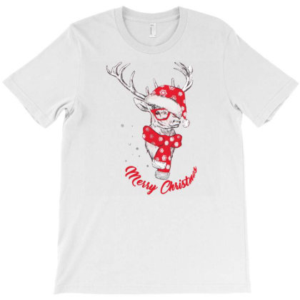 Womens Plus Christmass T-shirt Designed By Angelveronica