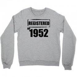 registered no 1952 Crewneck Sweatshirt | Artistshot