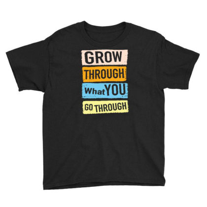 Quote Youth Tee Designed By Wiraart