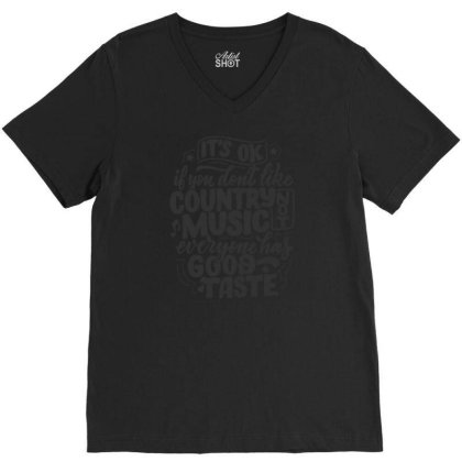 Quotes 3 V-neck Tee Designed By Wiraart