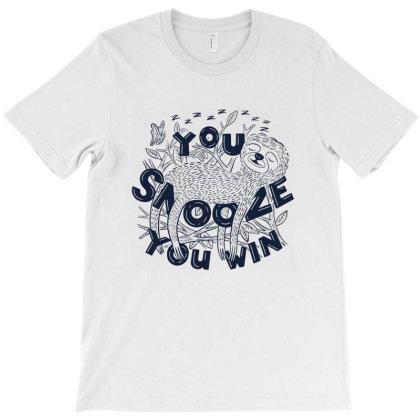 Snoozer T-shirt Designed By Chritine