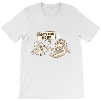 Sphinx Hijinks T-shirt Designed By Mildred