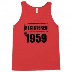 registered no 1959 Tank Top   Artistshot